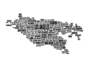 Los Angeles Typography