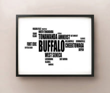 Load image into Gallery viewer, Buffalo Typography