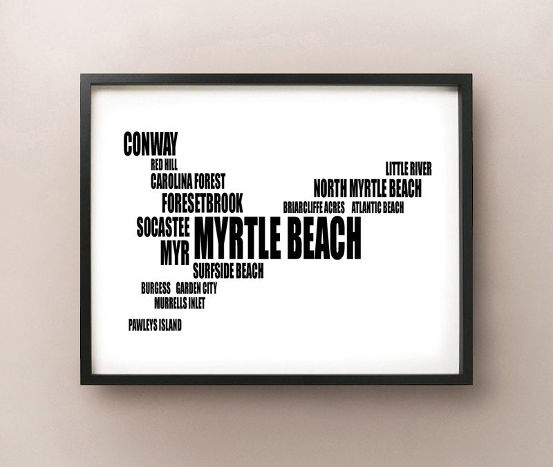 Myrtle Beach Typography