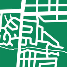 Load image into Gallery viewer, Detail from map of Alliston, Ontario by CartoCreative