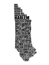 Load image into Gallery viewer, Manhattan Typography