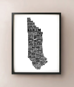 Manhattan Typography