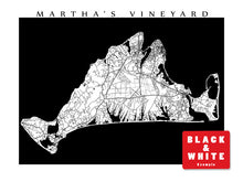 Load image into Gallery viewer, Martha's Vineyard Map, MA