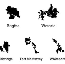 Load image into Gallery viewer, Western Canada Silhouette