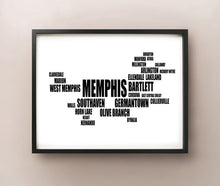 Load image into Gallery viewer, Memphis Typography