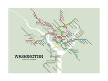 Load image into Gallery viewer, Washington Metro