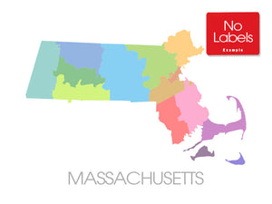 Massachusetts Multicolor