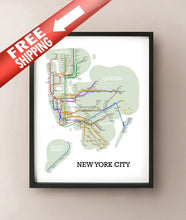 Load image into Gallery viewer, New York City Metro
