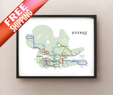 Load image into Gallery viewer, Quebec Metro