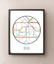 Load image into Gallery viewer, Berlin Minimalist Metro