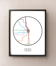 Load image into Gallery viewer, Chicago Minimalist Metro