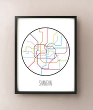 Load image into Gallery viewer, Shanghai Minimalist Metro