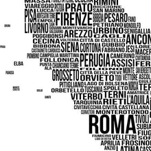 Load image into Gallery viewer, Italy Typography