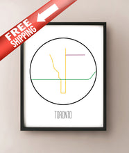 Load image into Gallery viewer, Toronto Minimalist Metro