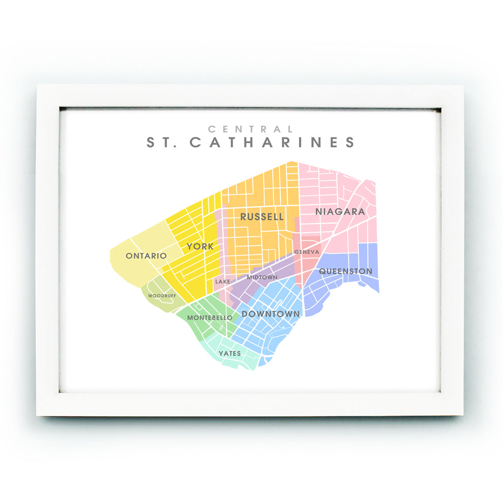 St. Catharines Central Neighbourhoods