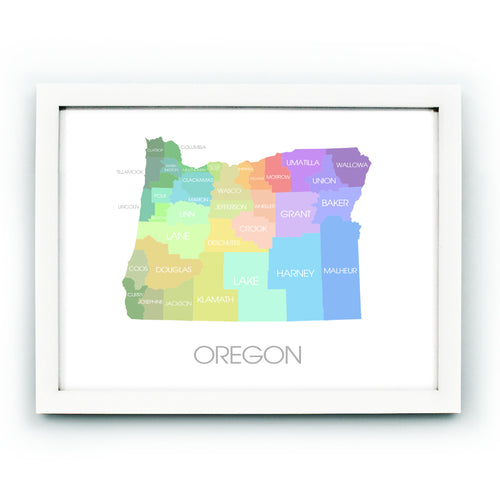 Oregon Multicolor