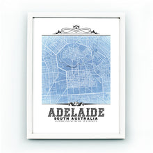 Load image into Gallery viewer, Adelaide Vintage Blueprint