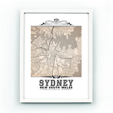 Load image into Gallery viewer, Sydney Vintage Sepia