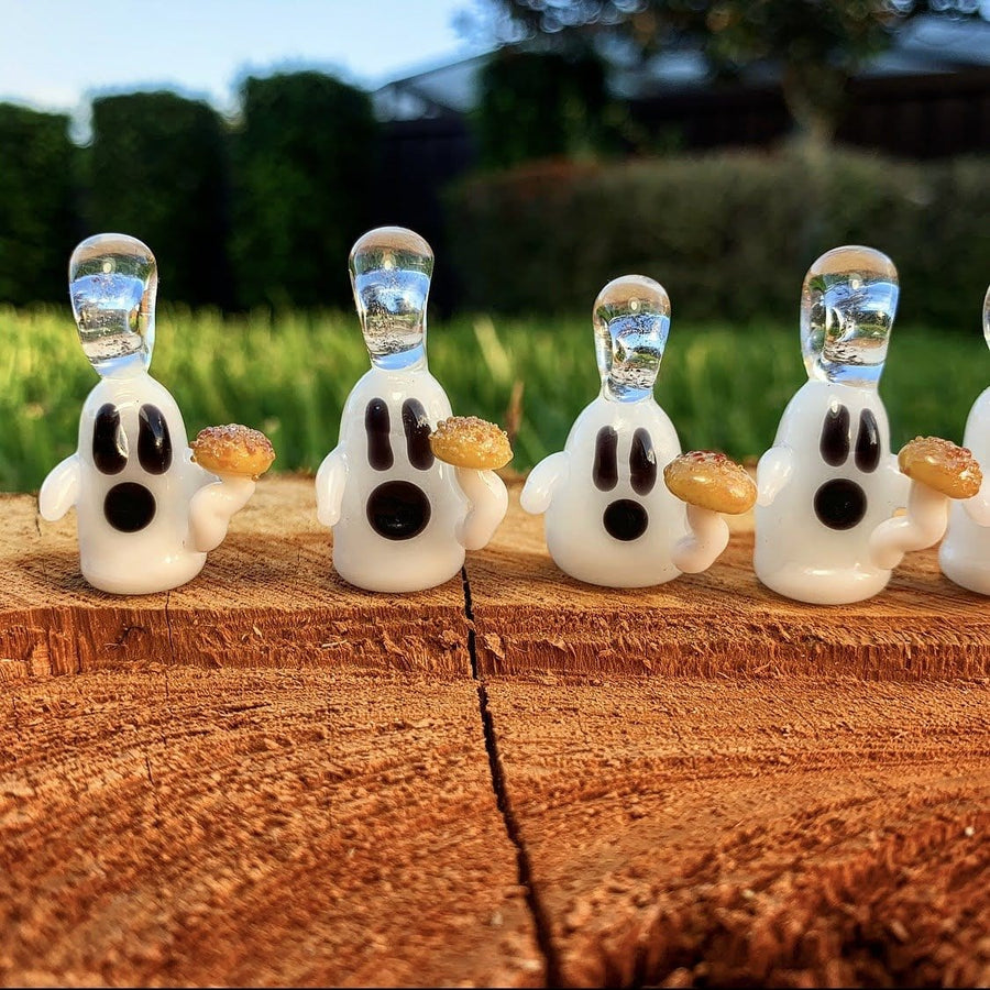 BOOMer Glass Ghost Pendants