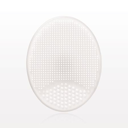 Oval Silicone Facial Cleansing Pad - Clear