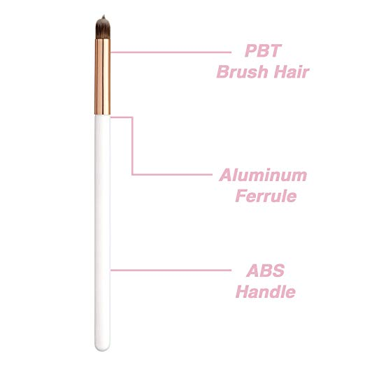 "Eye and Lip ""Tip and Blend"" Brush"