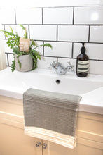 Load image into Gallery viewer, Waffle Weave Bath Mat - Grey