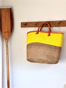 Large Sisal Market Basket