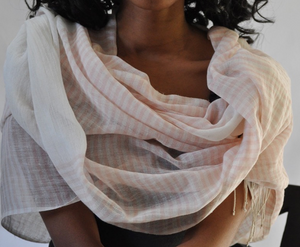Ari - Handwoven Cotton Shawl