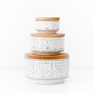 Moroccan Ceramic Boxes - Large