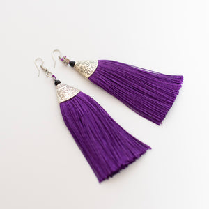Tassel Statement Earrings