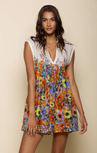 Watercolor Fields Short Dress