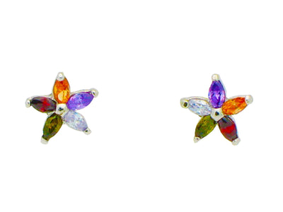 Color StarBurst Stud Earrings