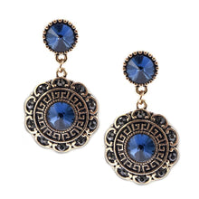 Bloom Earrings-Sapphire