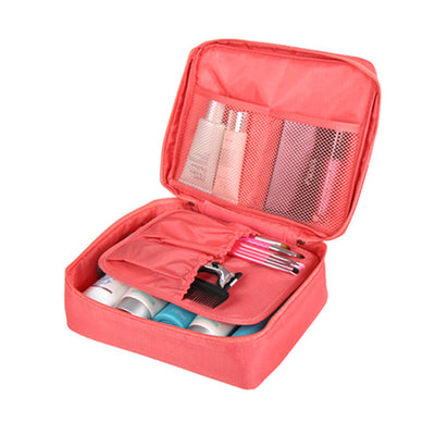 Compact Travel Cosmetic Bag