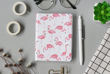 Load image into Gallery viewer, A6 Colorful Warm Sweet Girl Flamingo Notebook