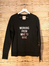 Load image into Gallery viewer, Nine To Wine Sweatshirt