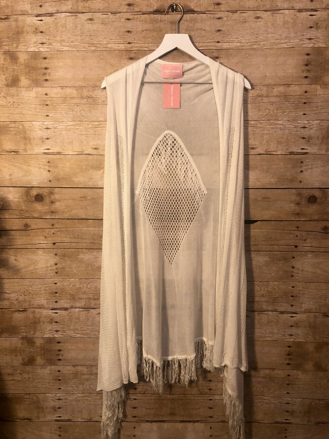 Fringe It Up Vest