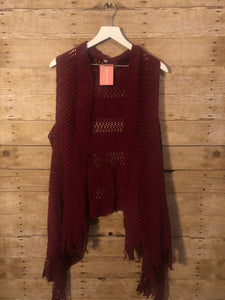 Knockout Knit Vest