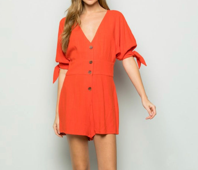 Talk About Scarlett Romper