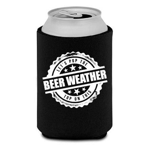Beer Weather Koozie
