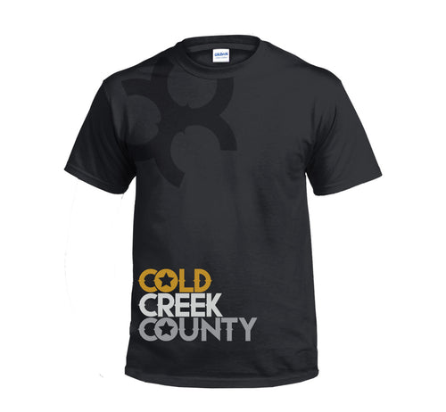 Cold Creek County T-Shirt (Black)