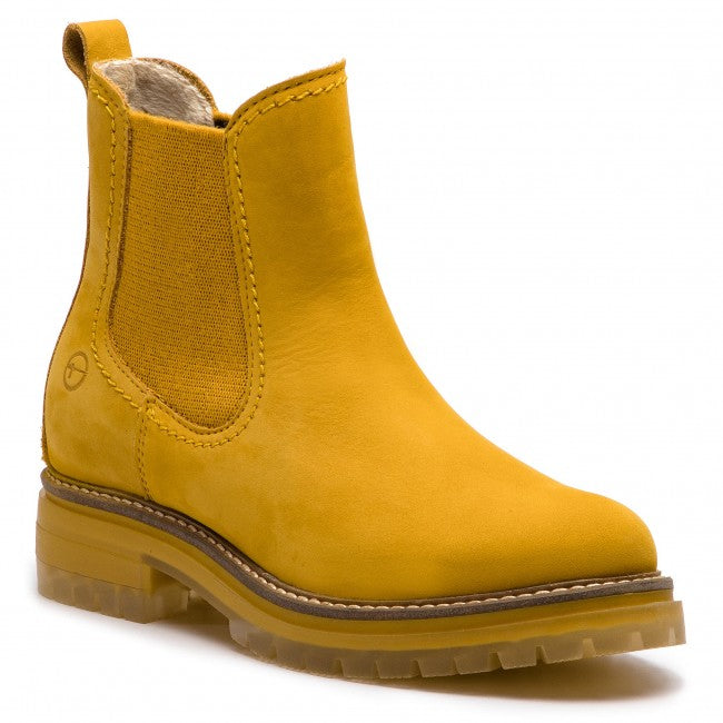 TRUSSARDI Yellow Suede Shoes