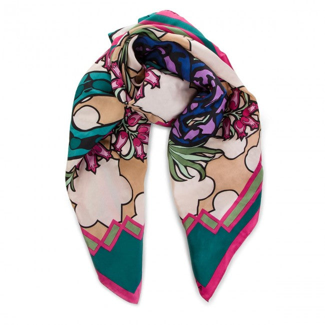 ROLF GAUDI Multiloloured Polyester Scarf