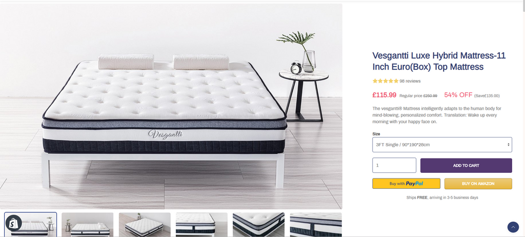 Which is the Best Mattress? | £135 Deal + 100 Night Trial‎
