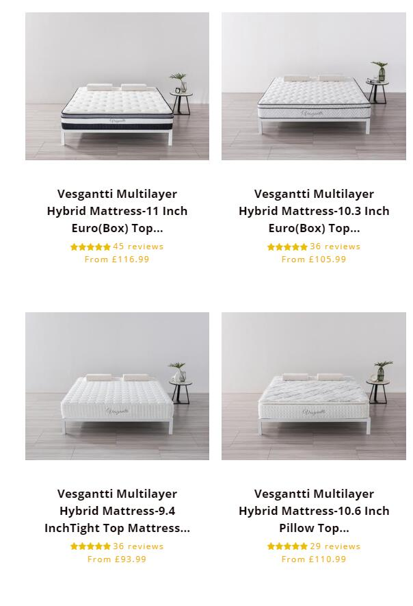 The Best Reviewed Mattress | Free  Delivery‎