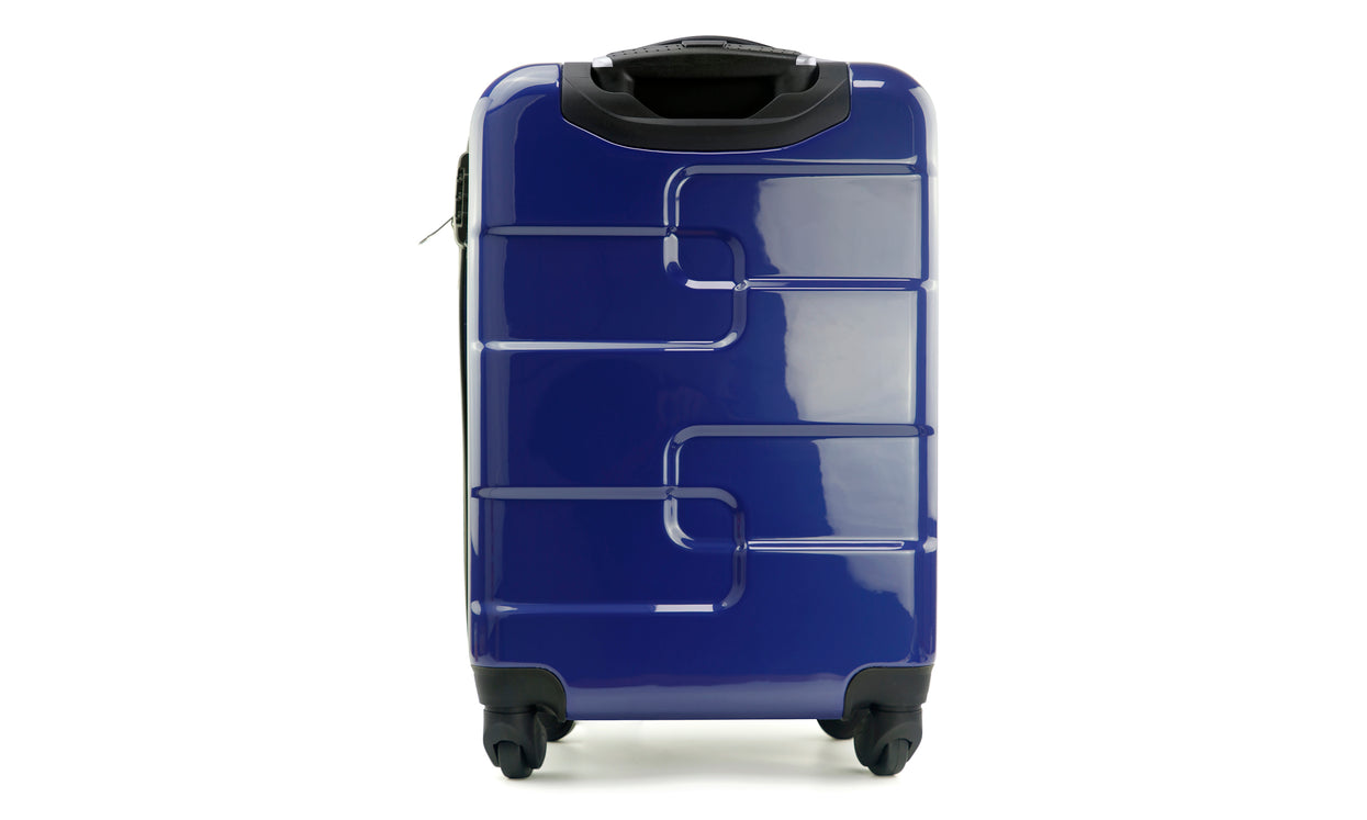 447fdd248361 Vesgantti Lightweight Hard Shell 4 Wheel Travel Trolley Luggage ...