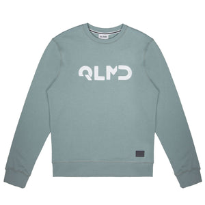 QLMD Sweater Stick rauchgrau