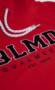 QLMD Hoodie Frottee 3D rot