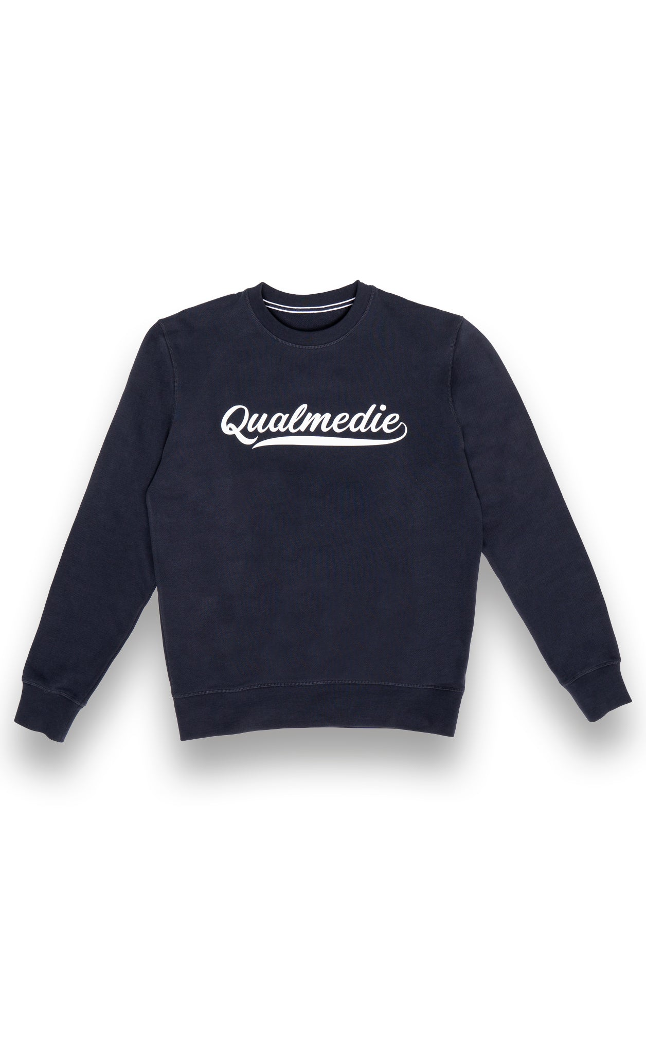 Qualmedie Sweater College dunkelblau