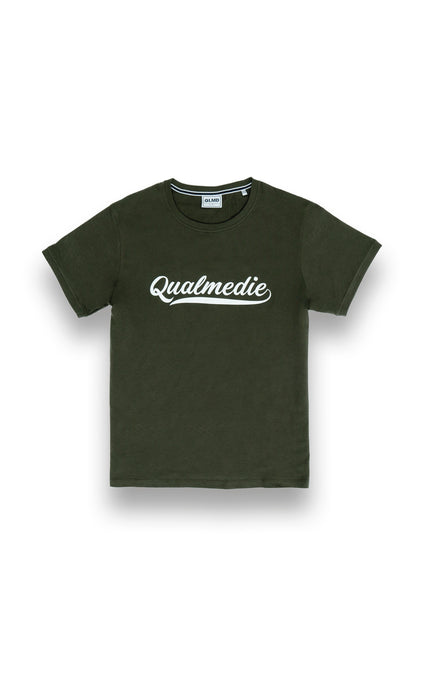 Qualmedie T-Shirt College oliv